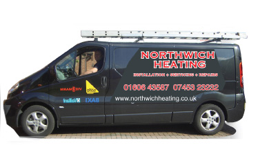 Northwich Heating Van